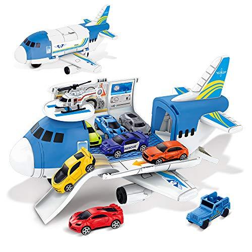 BeebeeRun Kinder Spielzeug ab 3,Auto Spielzeug 2 Jahre Jungen Fahrzeuge Spielzeug Set Kleinkind Spielzeug...