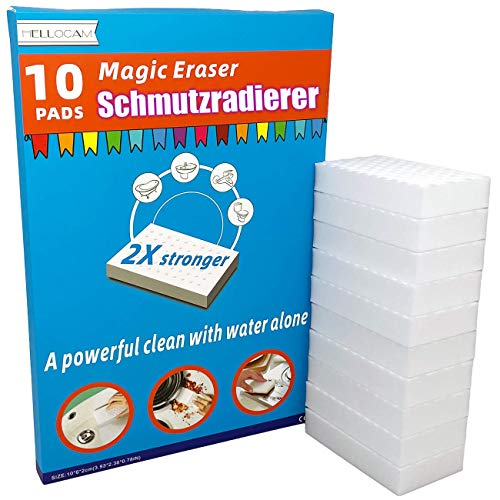 Schmutzradierer wand magic eraser schmutzradierer schwamm 10 Radierschwamm ,2X Plus Stärke reinigung...