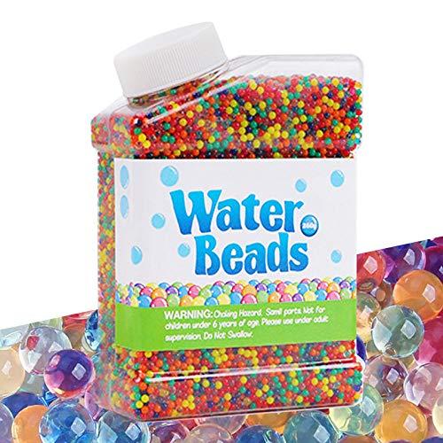 Cneng Wasserperlen Kits 50.000 Perlen Wachsende Bälle, Wasser perlen Feinmotorische Fähigkeiten...
