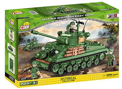 COBI 2533 M4A3E8 Sherman Easy Eight Toys, Grün