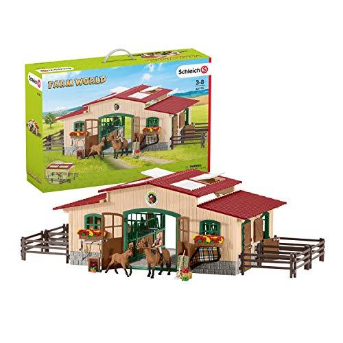 Schleich - Reitstall mit Pferden und Zubehör