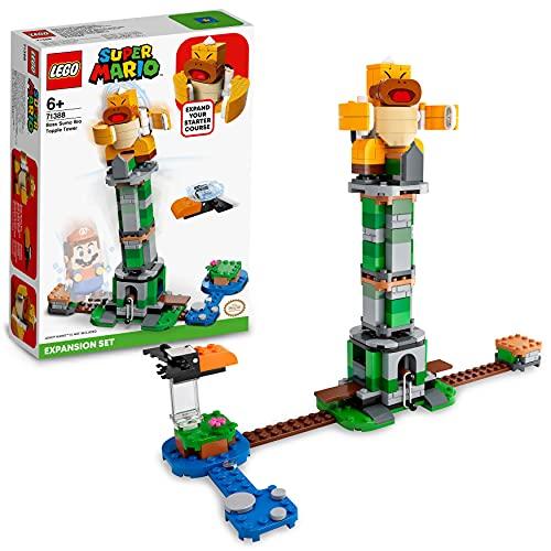 LEGO 71388 Super Mario Kippturm mit Sumo-Bruder-Boss – Erweiterungsset, baubares Kinderspielzeug zum...
