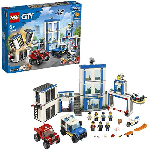 LEGO 60246 - Polizeistation, City, Bauset