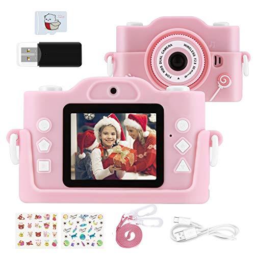 """KinderKamera, Fotoapparat Kinder für 3-14 Jahre alt mädchen und Jungen, 2.0""""Display MP3-Player Kinder..."""