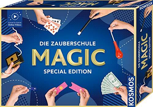 KOSMOS Die Zauberschule Magic Special Edition, einfach Zaubern lernen, 100 Tricks, viele...