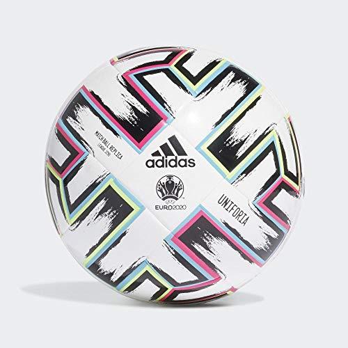 adidas Kinder Unifo LGE J290 Ball, White/Black/Siggnr/Br, 4