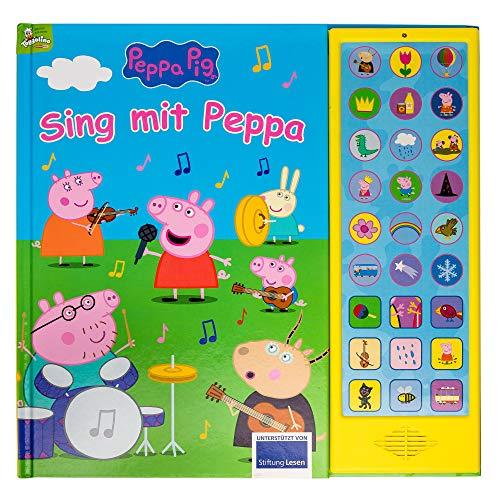 Peppa Pig - Sing mit Peppa Pig - 27-Button-Soundbuch mit 24 Seiten für Kinder ab 3 Jahren - mit...
