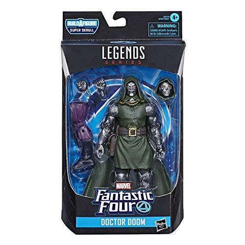 Marvel Legends Series Fantastic Four 15 cm große Doctor Doom Action-Figur, Premium Design, 4...