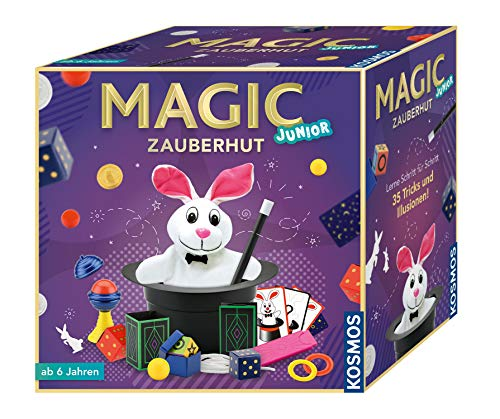 Zaubertricks mit /über 75 Geheime Zaubertricks Lernen Magic-Kit Mit 17 Arten von Magischen Requisiten Zaubertricks/f/ür/Kinder Erwachsene Einsteiger EPCHOO Zauberkasten