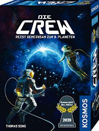 Kosmos 691868 Die Crew - Reist gemeinsam zum 9. Planten, Kennerspiel des Jahres 2020, kooperatives...