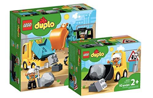 Collectix Lego Duplo - Set: 10931 Bagger und Laster + 10930 Radlader