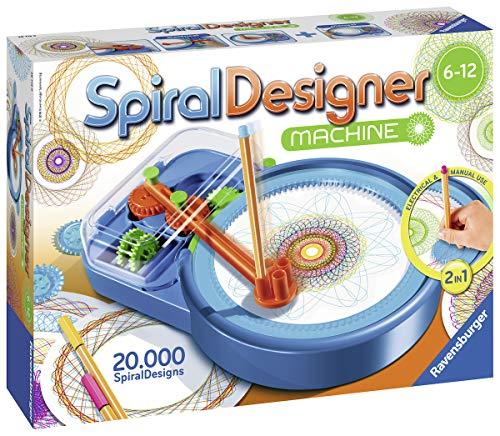 Ravensburger Spiral-Designer-Maschine, Zeichnen lernen für Kinder ab 6 Jahren, Kreatives Zeichen-Set...
