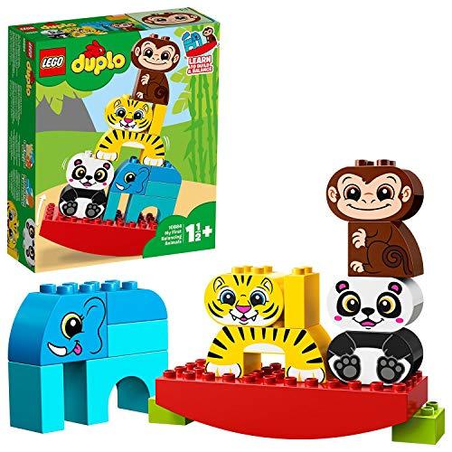 LEGO 10884 DUPLO Meine erste Wippe mit Tieren, Vorschulspielzeug für Kinder im Alter von 1,5 Jahren