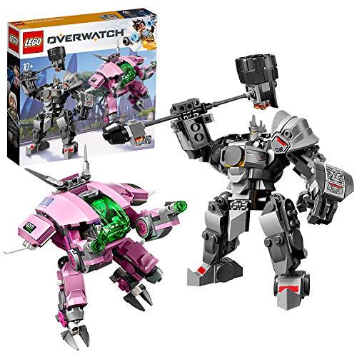 LEGO 75973 Overwatch D.Va & Reinhardt (Vom Hersteller Nicht mehr verkauft)