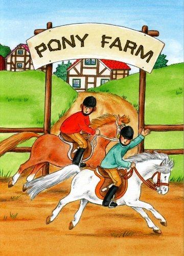 Personalisiertes Kinderbuch: Ponyfarm