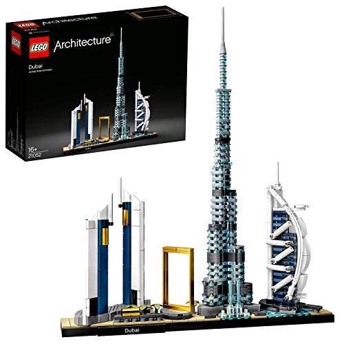 LEGO 21052 Architecture Dubai Skyline-Kollektion, Bauset für Sammler, Geschenk zum Muttertag,...
