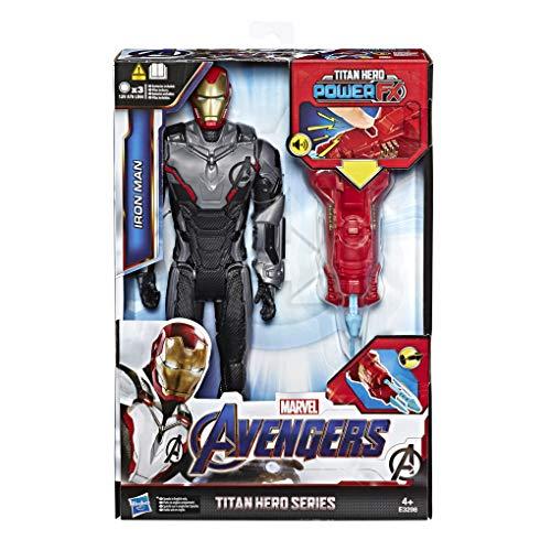 Avengers Titan Hero Iron Man mit Quantum Power Pack, ca. 30 cm große Actionfigur in Deutscher...