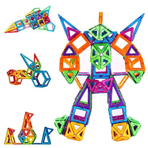 CONDIS Magnetische Bausteine 114 Teile Magnetspielzeug Magnete Kinder Magnetbausteine Magnet Spielzeug...