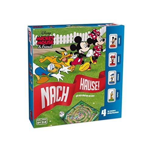 ASS 22501061 Mickey Mouse & Friends-Nach Hause-Das Würfelspiel um den Wettlauf zum Ziel mit Micky,...