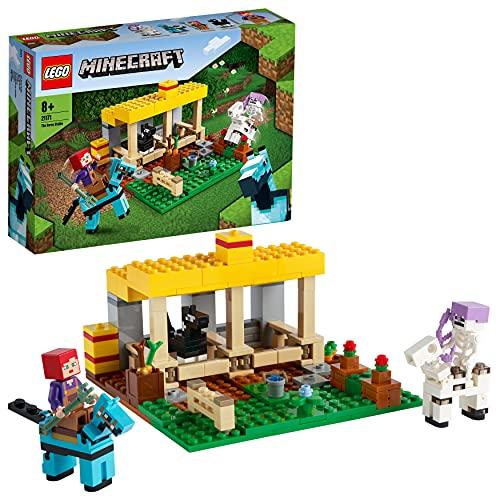 Minecraft-Spielzeug 'Der Pferdestall' von LEGO Minecraft