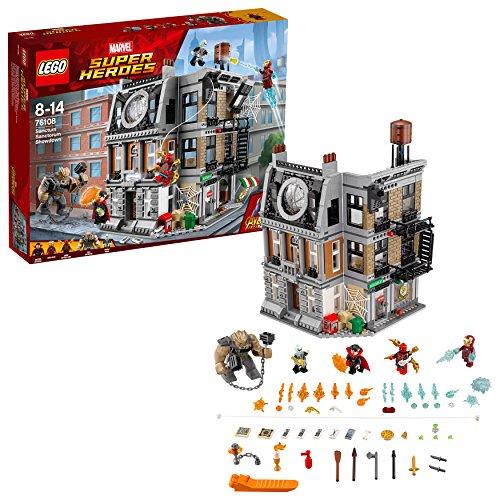 LEGO Marvel Super Heroes Sanctum Sanctorum – die letzte Entscheidung 76108 Superheldenspielzeug