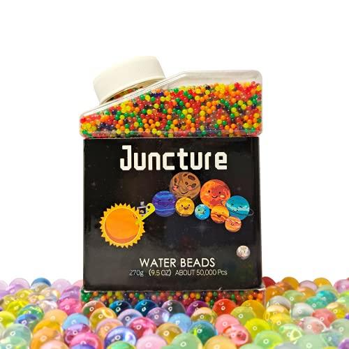Juncture Wasserperlen,Gel Perlen Bunte 50000 Stücke Wasser Bälle Dekorative Wachs In Wasser Gel Perlen...