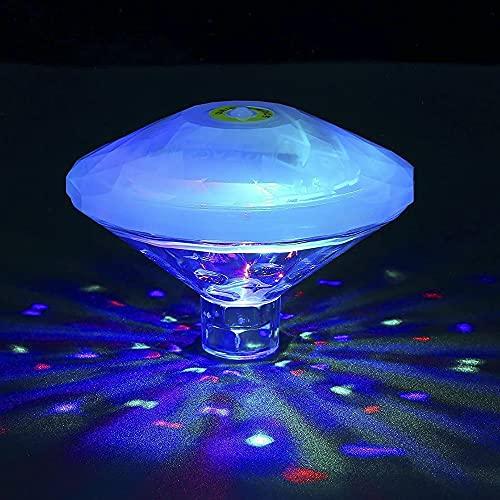 RAVPHICS Poolbeleuchtung Unterwasser Led, Badewannen licht für kinder, IP68 Wasserdicht, RGB-Poollichter...