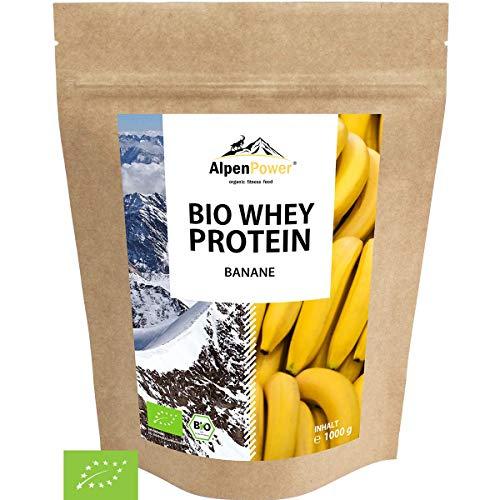 ALPENPOWER | BIO WHEY Protein Banane | Ohne Zusatzstoffe | 100% natürliche Zutaten | Bio-Milch aus...