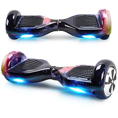 Windgoo Hoverboard, 6.5 Zoll Self Balance Scooter mit Starker Dual Motor - LED Lights Elektro Scooter,...