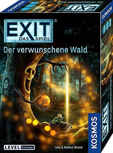 KOSMOS 695149 EXIT- Das Spiel - Der verwunschene Wald, Level: Einsteiger, Escape Room Spiel, für 1 bis 4...