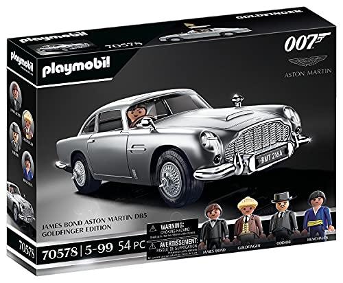 PLAYMOBIL 70578 JAMES BOND ASTON MARTIN DB5 - GOLDFINGER EDITION, Für James-Bond-Fans, Sammler und...
