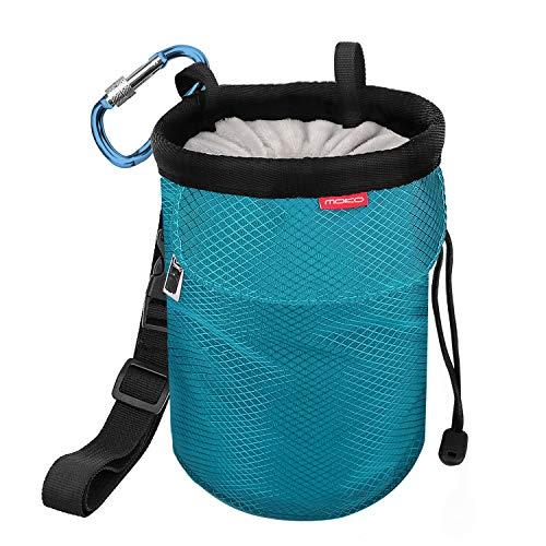 MoKo Chalkbag, Kordelzug Magnesiabeutel Klettern Bouldern Chalk Bag mit Einstellbar Gurt &...