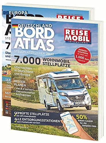 Bordatlas Stellplatzführer 2022: Deutschland und Europa: 2 Bände; Deutschland und Europa