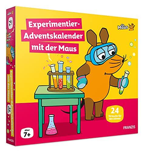 Adventskalender 'Experimentier-Adventskalender mit der Maus' von Franzis