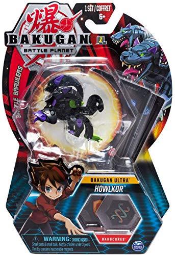 BAKUGAN Spin Master Battle Planet – Howlkor – 8cm Ultra Battle Brawlers und Sammelkarte