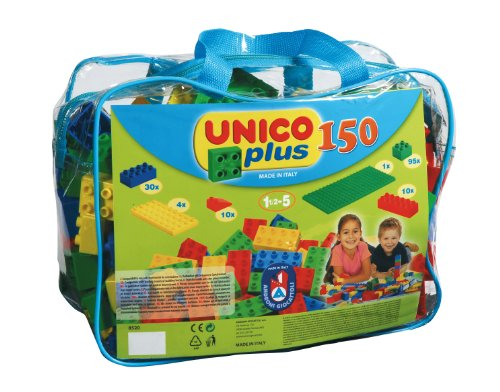 Unico 8520-0000 150 Bauklötze in der Tasche