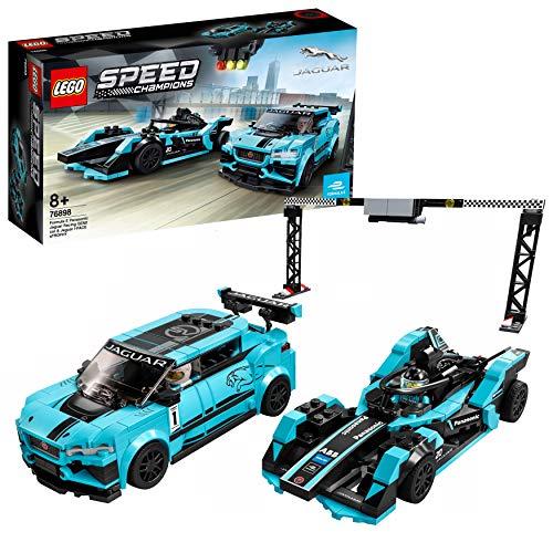 Lego 76898 Speed Champions Formula E Panasonic Jaguar Racing GEN2 car & Jaguar I-PACE eTROPHY,...