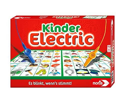 Noris 606013702 Kinder Electric Der Lernspiel-Klassiker, was passt zusammen, Es blinkt, wenn's stimmt, ab...