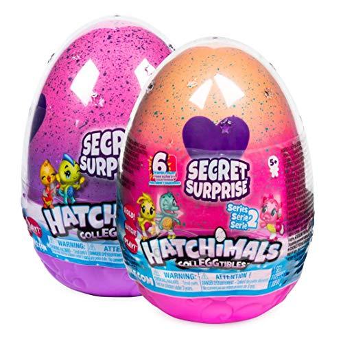 Hatchimals 6047125 - CollEGGtibles Secret Surprise Spielset mit 3 exklusiven Hatchimals - Figuren (6...