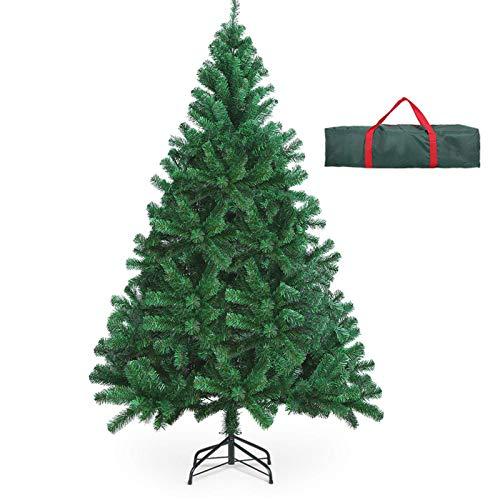 OUSFOT Weihnachtsbaum Künstlich 182cm (Ø ca. 110 cm) 800 Äste schwer entflammbarer Tannenbaum mit...