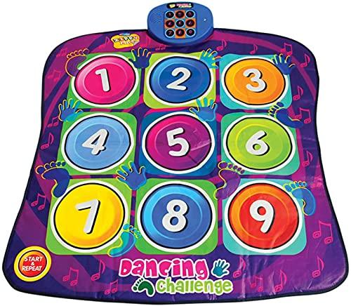 Digitale Tanzmatte-Dancing Challenge Playmat-Kleinkindspielzeug Baby Musical Spiel Teppichmatte...
