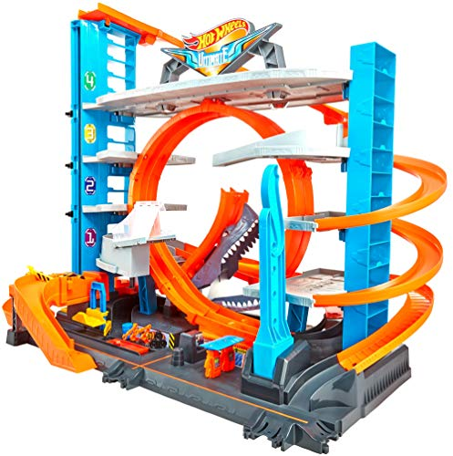 Hot Wheels - City Ultimate Parkgarage und Parkhaus