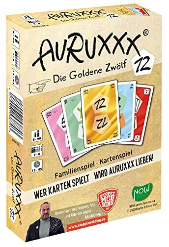 AURUXXX - Die Goldene 12 - Das spannende Kartenspiel für witzige Spieleabende für Jung und Alt. Eine...