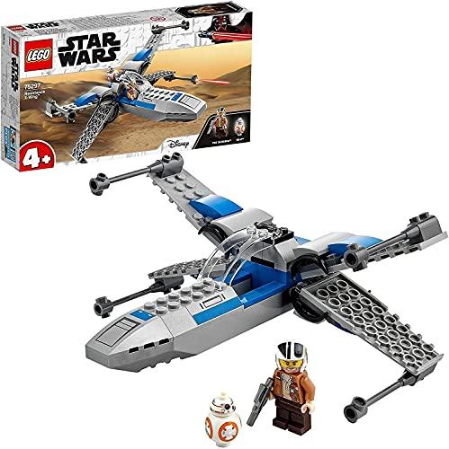 LEGO 75297 Star Wars Resistance X-Wing Starfighter Kleinkinder Spielzeug ab 4 Jahren mit Poe Dameron...