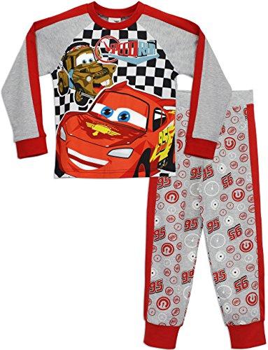 Disney Cars Jungen Schlafanzug Lightning McQueen Mehrfarbig 128
