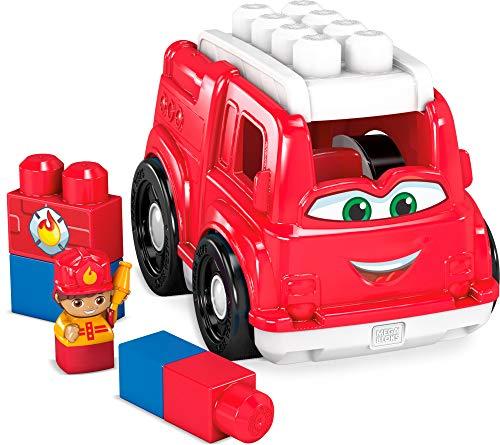 Mega Bloks GCX09 - Kleines Fahrzeug Feuerwehrauto, 6 Teile