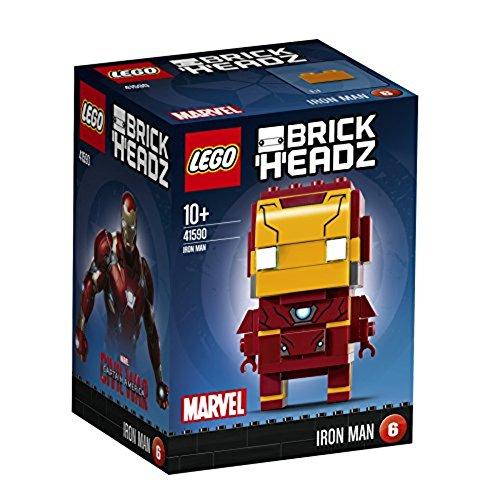 Schaustück-Bausatz 'Iron Man' von LEGO BrickHeadz