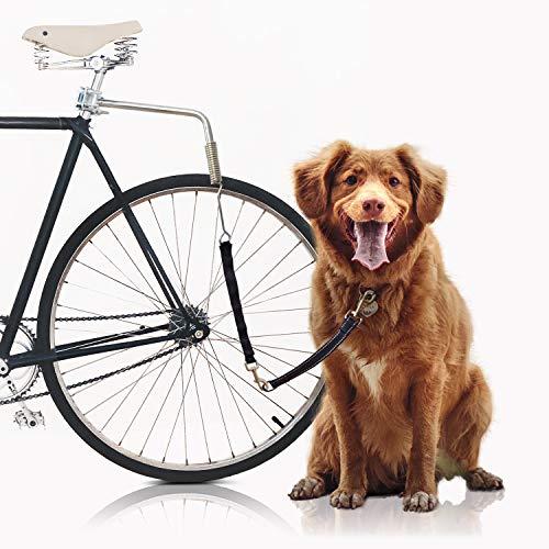 Bella & Balu Hundeleine fürs Fahrrad   Fahrradleine inkl. Befestigung für Sattelstange, Abstandhalter,...