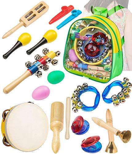 Smarkids Musikinstrumente Kleinkindspielzeug - Professionelles Musik-Lernspielzeug für Vorschulkinder...