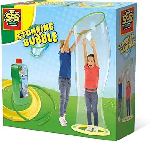SES 2257 Creative Stelle dich in eine Riesenblase - Seifenblasen (750 ml, Beide Geschlechter, Kinder, 5...